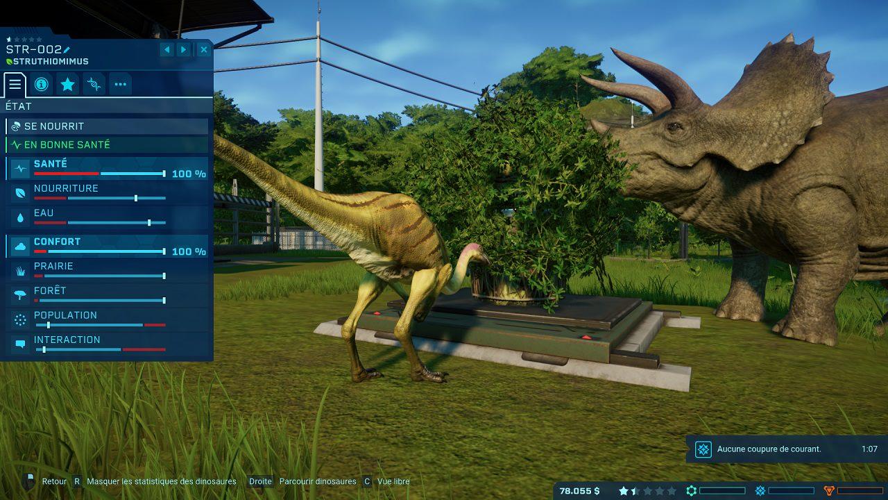 Triceratops Jurassic World Evolution